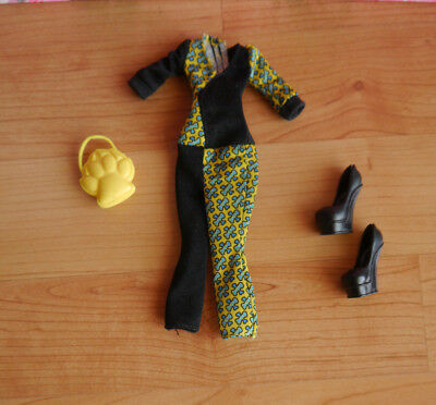 Monster High Puppenkleidung + Fashionset Frankie Stein + Fatale Fusion +