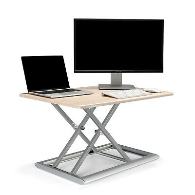 Standing Desk Converter Height Adjustable Sit to Stand fits Laptop and Monitor
