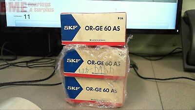 Lot Of 3 Skf Or-Ge 60 As , Housing/sleeve, W/graphite Bearing Insert