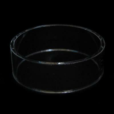 """Acrylic Egg Sphere Ornament Display Stand 3"""" dia x 1"""" h"""