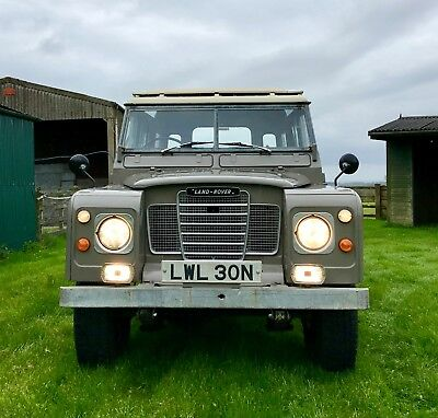 Land Rover Series 3 109 LWB 2.6 | galvanised chassis | refreshed engine
