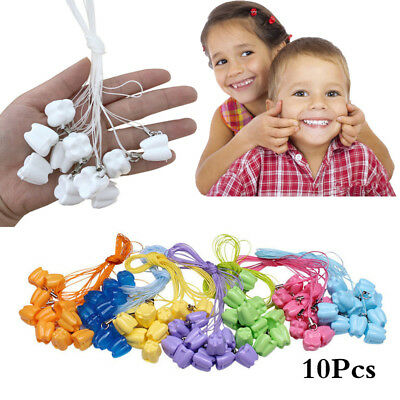 10PCS Baby Tooth Organizer Boxes Save Deciduous Teeth Storage Collecting Gift