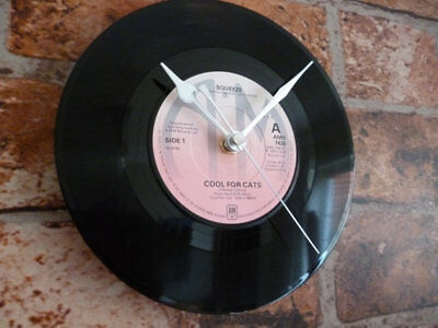 Vintage Retro Vinyal Record wall Clock
