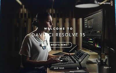 Blackmagic Davinci Resolve 15 Studio (Dongle)