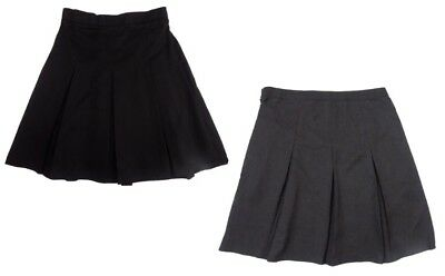 girls school skirt grey black 4,5,6,7,8,9,10,11,12,13,14,15,16 years
