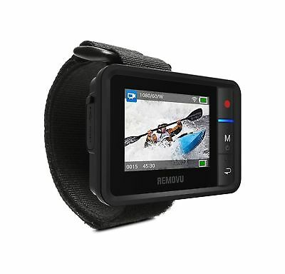 Removu R1+ Wearable Waterproof and Dustproof IP67 rated Wi-Fi Live Viewer and...