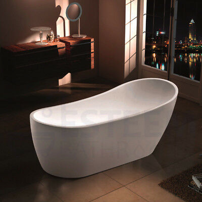 Daisy 1500mm Bathroom Acrylic Free Standing Bath Tub High End Side Freestanding