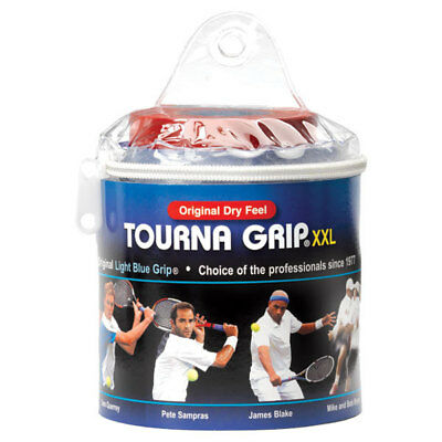 TOURNA - Tourna Grip XXL 30 Pack Blue Tennis Overgrip - (TOUR-30XXL)