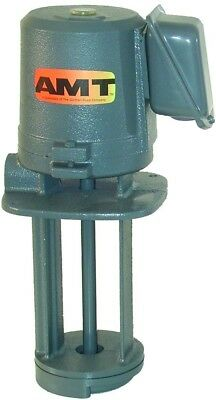 AMT Pump 5380-95 Immersion Coolant Pump, Cast Iron, 1/8 HP, 1 Phase, 115/230V,