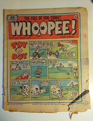Whoopee! #25 (24th August 1974) Lone Ranger, Ghost Train. Ken Reid Wanted poster