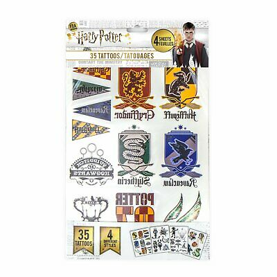 Tattoo Sheets of temporary Harry Potter Images
