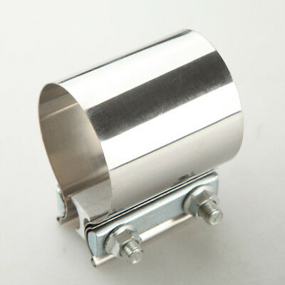 """AU STOCK Stainless Steel 3"""" Inch Exhaust Flat Band Clamp Easy Install"""