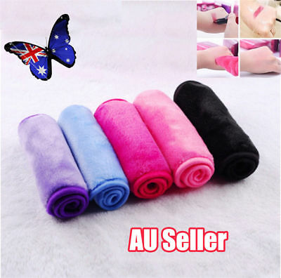Exfoliation Makeup Remover Towels Make up Cleaning Towel Cloth Micro Fibre  NW