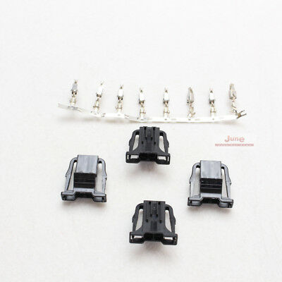 4pcs of 1J0 972 923 with 8pcs of Contact Pins OEM Plug For Audi VW SEAT SKODA