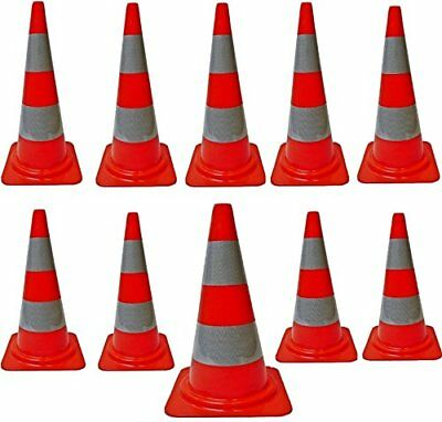 Progen Top Quality Road Traffic Cones 18` (490Mm) Self Weighted Safety Cone