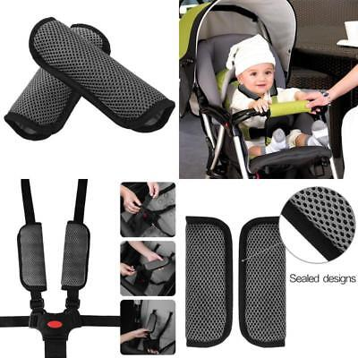 Infant And Baby Car Seat Strap Covers Stroller Belt Head Support Shoulder Pads