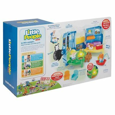 NEW Fisher Price Little People Songs & Sounds Camper 40+ Sounds