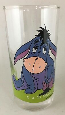 IXL Collectable Glass Disney Winnie the Pooh Eeyore #3 of 6 glasses, cup