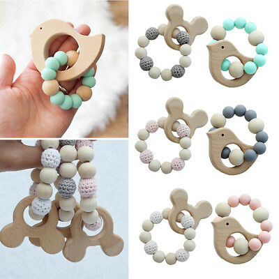 Baby Jewelry Teething For Baby Organic Baby Rattle Stroller Accessories Toys BO