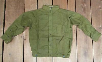 Vintage 1930s Bonnie Boy Green Wool Boys Shirt Antique New Old Stock! Age 9 NOS