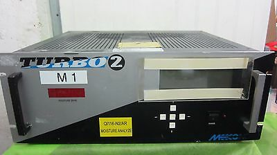 Meeco Turbo 2 Trace Moisture Analyzer Ql116-N2/ar