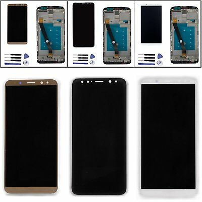 "5.9"" LCD Display Touch Screen Digitizer Assembly w/Frame For Huawei Mate 10 Lite"