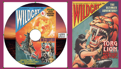 Wildcat Comics 14 issues & specials Science Fiction + viewing software for PC CD
