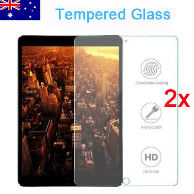 "2x TEMPERED GLASS Screen Protector For Apple iPad 6th Gen 9.7"" 2018 A1893 A1954"