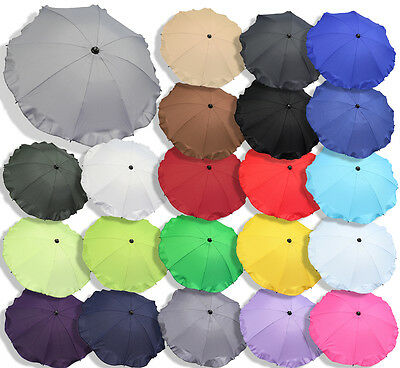 UK STOCK Baby sun UMBRELLA PARASOL buggy pushchair pram stroller shade canopy