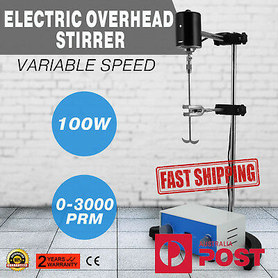 100W JJ-1 Laboratory Overhead Stirrer Electric Mixer Variable Speed Stirring Rod