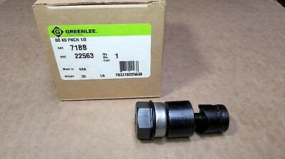 NEW Greenlee 71BB Knockout Punch Unit BB 1/2 ~ 22563