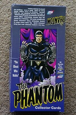 Phantom Trading Cards Box 48 packs of 10 1995 Comic Images 480 cards NEW