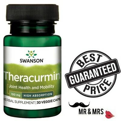 Swanson High Absorption Theracurmin 100mg *  Discover Your  Potential !!!
