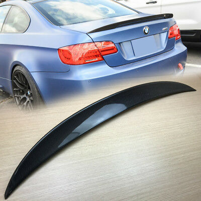 Real Carbon BMW 3-Series E92 2D High Kick Performance Type Trunk Spoiler New335i
