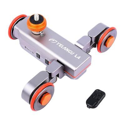 2018 Yelangu DSLR Motorized Electric Autodolly Video Pulley Rolling For Camera