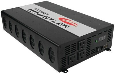 Whistler XP3000i 3000 Watt 3 Outlet Power Inverter w/USB Port Overload Indicator