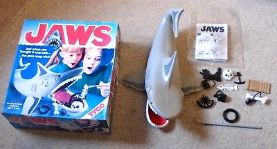 Vintage 1975 JAWS Game by Tyco Boxed With Accessories & Instructions