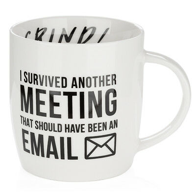 NEW AT I Survived Another Meeting Coffee Mug