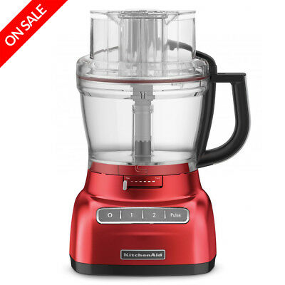 NEW KitchenAid Artisan Red ExactSlice Food Processor KFP1333