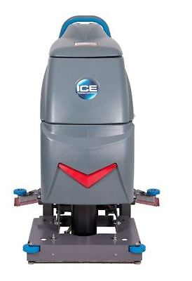 I.C.E I20NBT-OB Orbital Scrubber with Traction Drive Dryer Floor Cleaner Machine