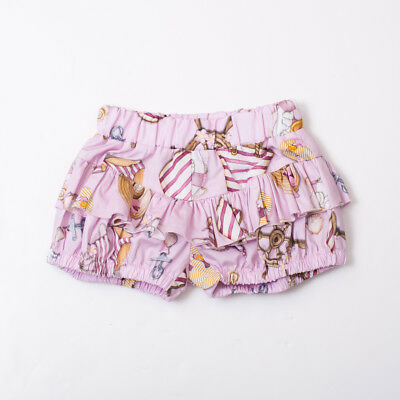 "Shorts For Baby Duck Girl Kids  (Last 9M) ""monnalisa"" 311609Sl Ss 2018 {-50%}"