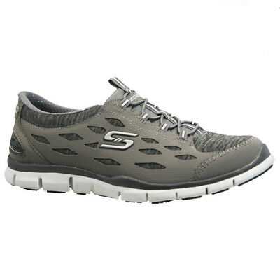1e71c0ada1f3 Ladies Skechers Memory Foam Lightweight Fitness Running Walking Trainers  Shoes