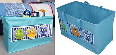 Kids Folding Toy Storage Box Large Monster Carry Bag Childs Clothes Bedroom Acc.