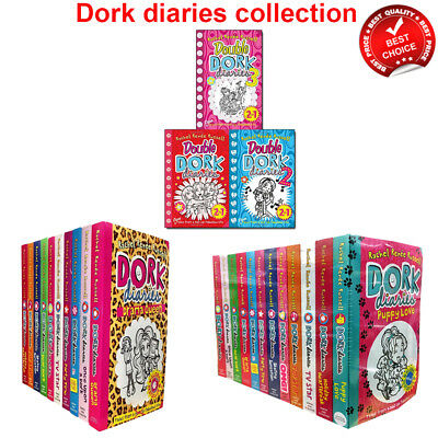 Dork diaries series 1-12 books Rachel Renee Russell collection Childrens set NEW