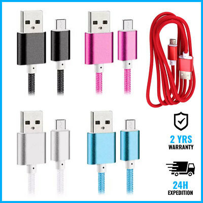 USB - USB-C Braided Data Charging Cable 1.5M Fast Charger Chargeur Oplader Kabel