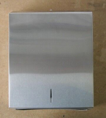 304 grade Brushed Stainless Steel hand towel dispenser