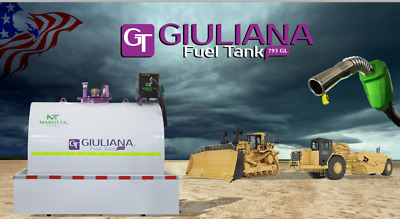 Giuliana 793 Gallons fuel tank for diesel 110V fuel pump high accuracy meter