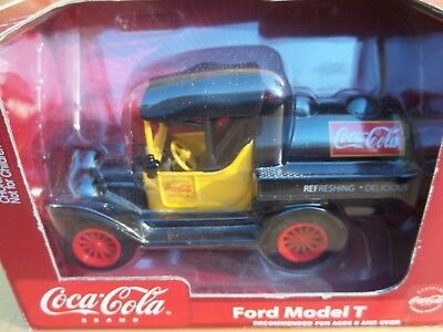Coca Cola Ford Model T Tanker Diecast Coin Bank