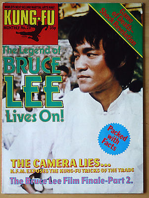 Kung Fu Monthly Poster Magazine no 29 - Excellent condition!! Bruce Lee KFM