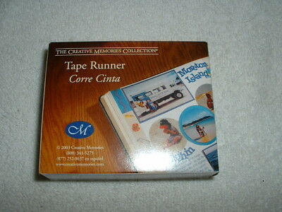 Creative Memories Tape Runner 34' Double-Sided Adhesive Permanent NEW